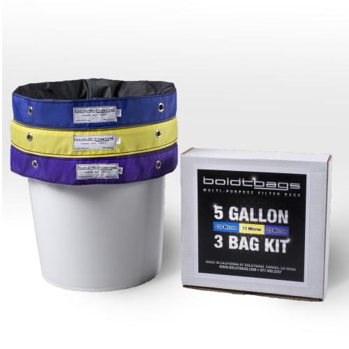 Classic- 5 Gallon 3 Bag Kit