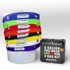 Full Mesh – 5 Gallon 8 Bag Kit