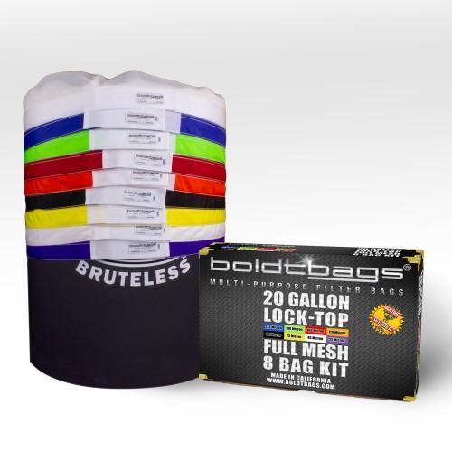 Lock Top – 20 Gallon Full Mesh Stackers 8 Bag Kit