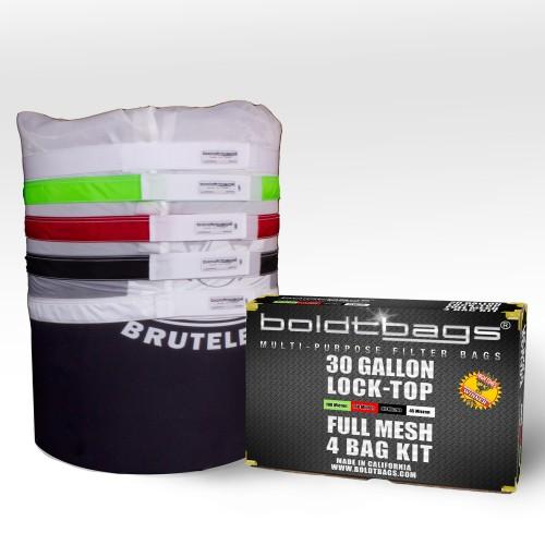 Lock Top – 30 Gallon Full Mesh Stackers 4 Bag Kit