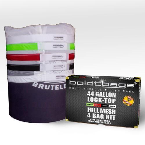 Lock Top – 44 Gallon Full Mesh Stackers 4 Bag Kit