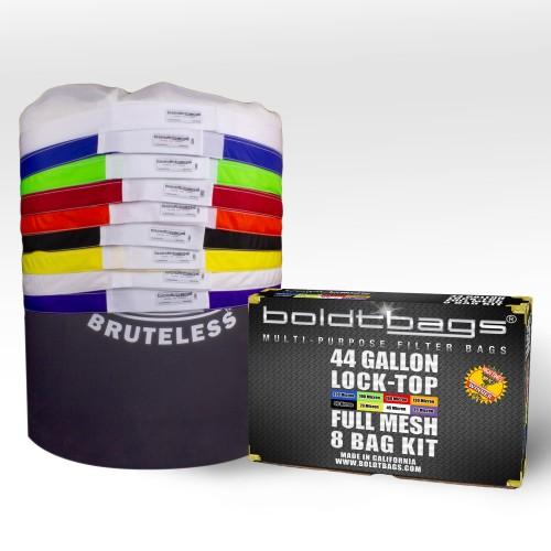 Lock Top – 44 Gallon Full Mesh Stackers 8 Bag Kit