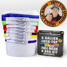 Lock Top – 5 Gallon Full Mesh Stackers 8 Bag Kit