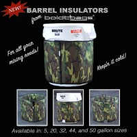 45 Gallon Barrel Insulation Jacket for Uline brute cans