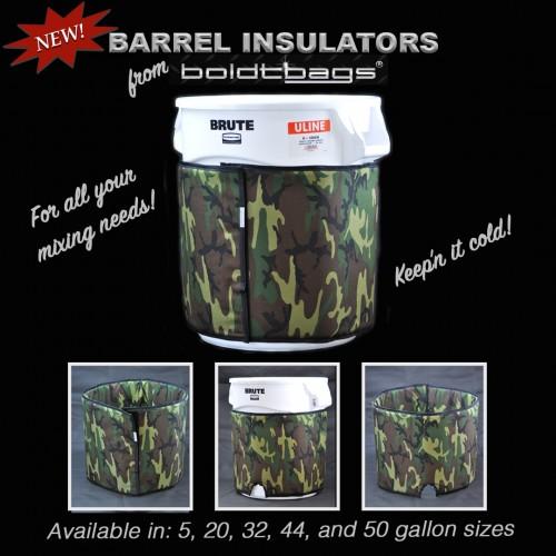 20 Gallon Barrel Insulation Jacket for Uline brute cans