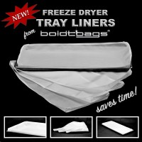 Freeze Dryer Tray Liner (Large) 8 pack kit